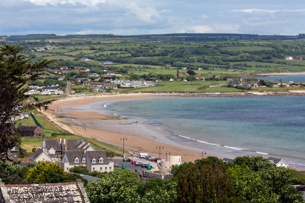 Ardmore Beach in County Waterford