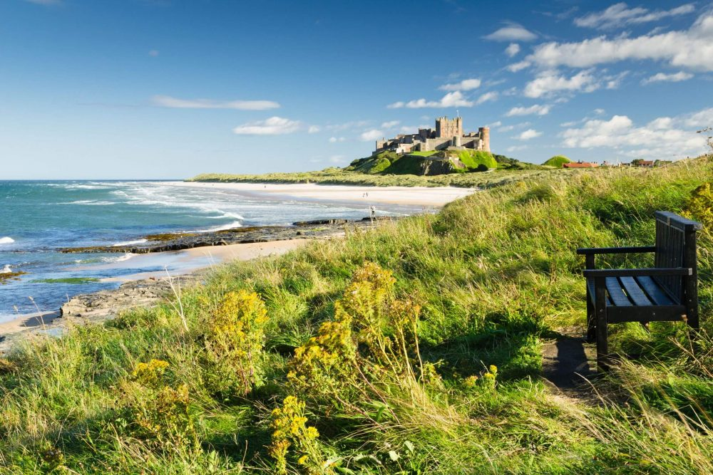 Bamburgh Castle and Coast