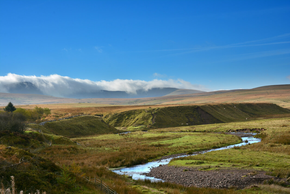 River Usk in the Brecon Beacons