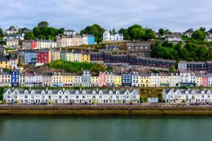 Cobh village, County Cork
