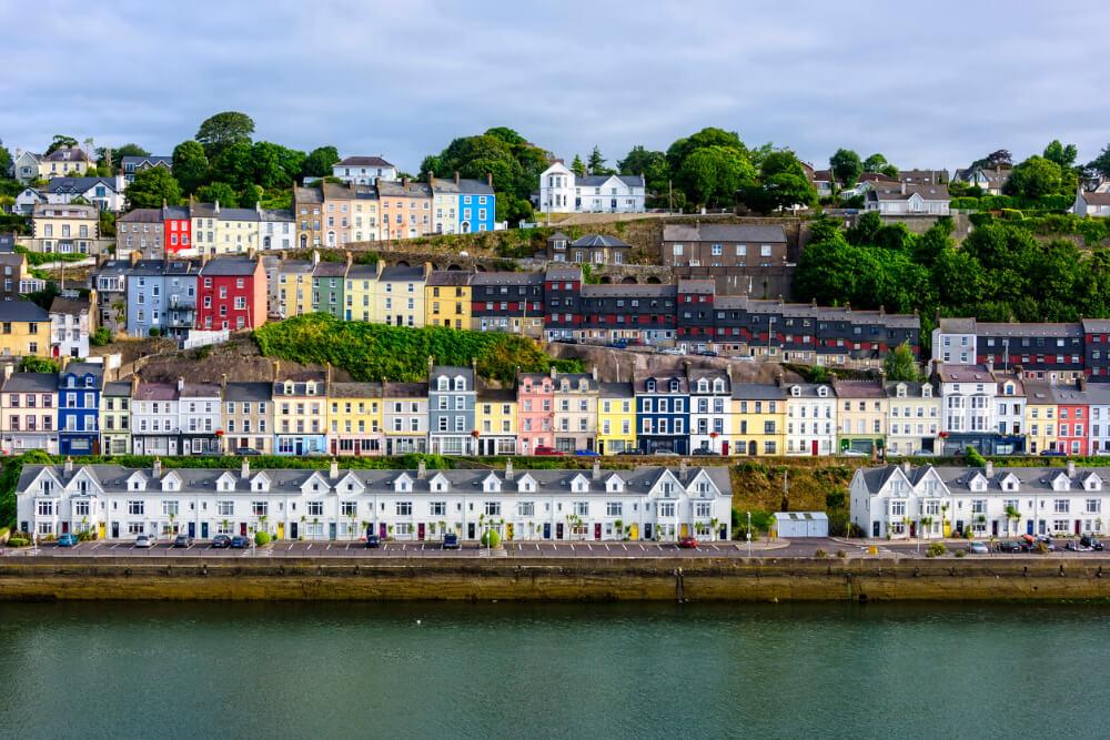 Cobh village, County Cork