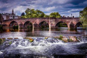 Devorgilla Bridge, Dumfries and Galloway, Scotland