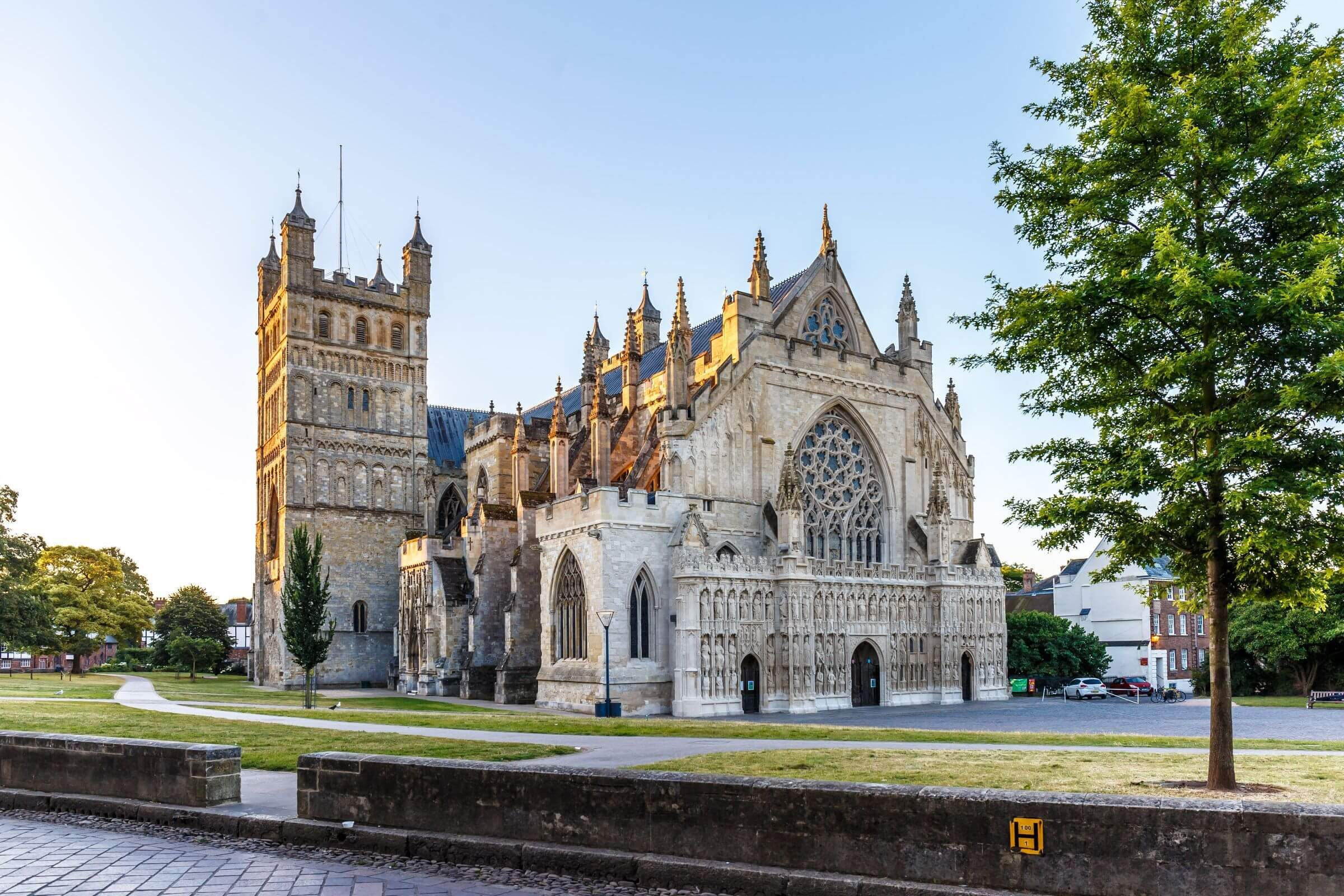 Exeter Cathedral, Devon