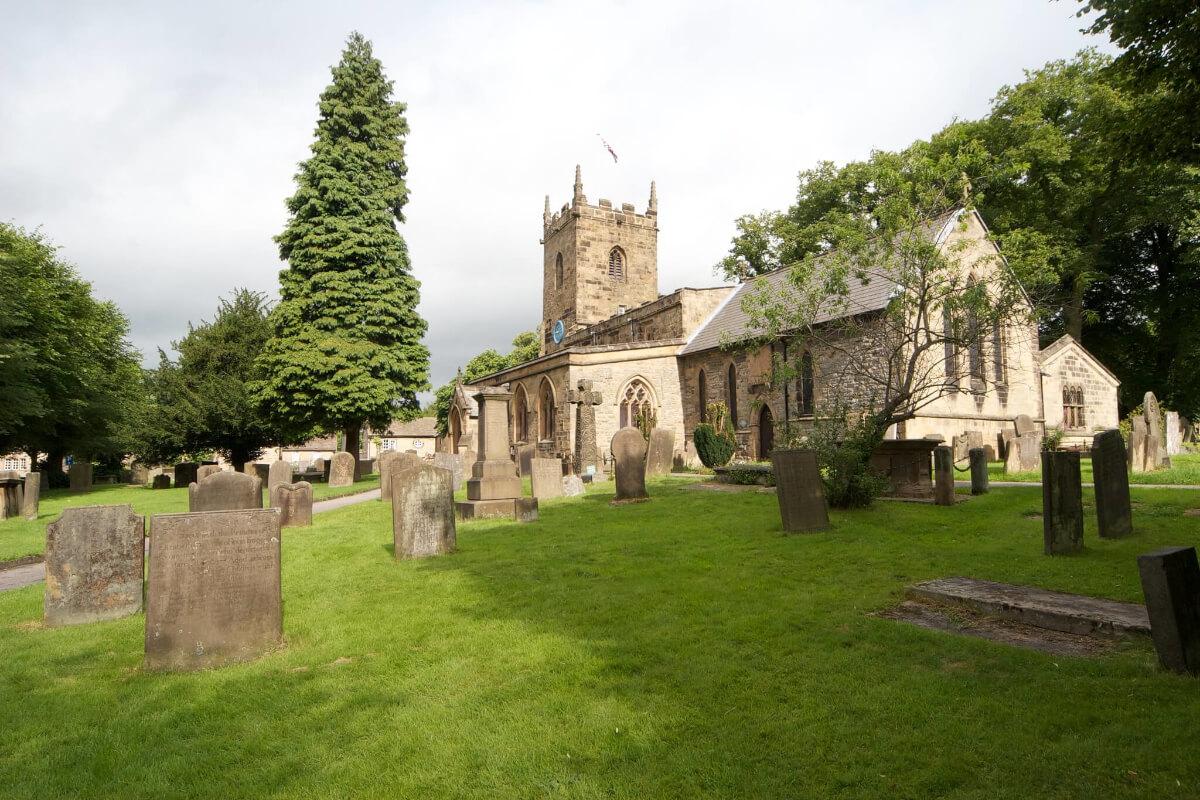 Eyam Plague Village Church