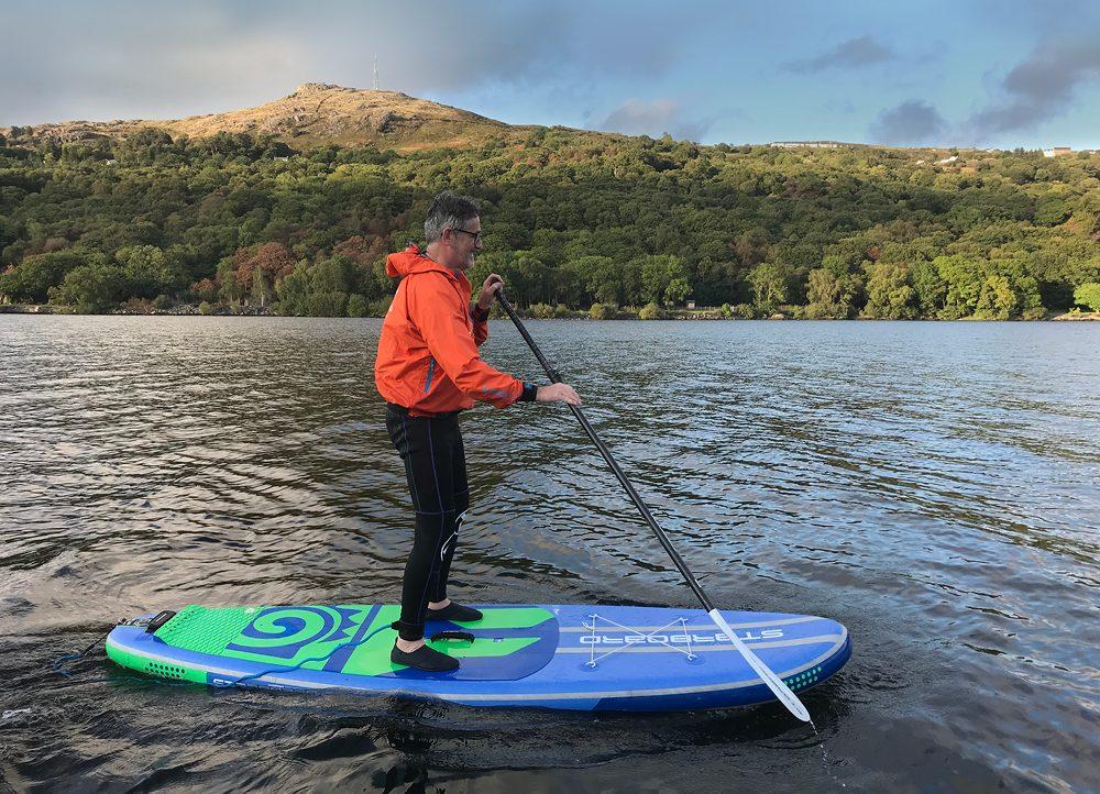Paddleboarding Snowdonia