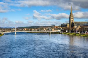 River Ness and Inverness Cathedral