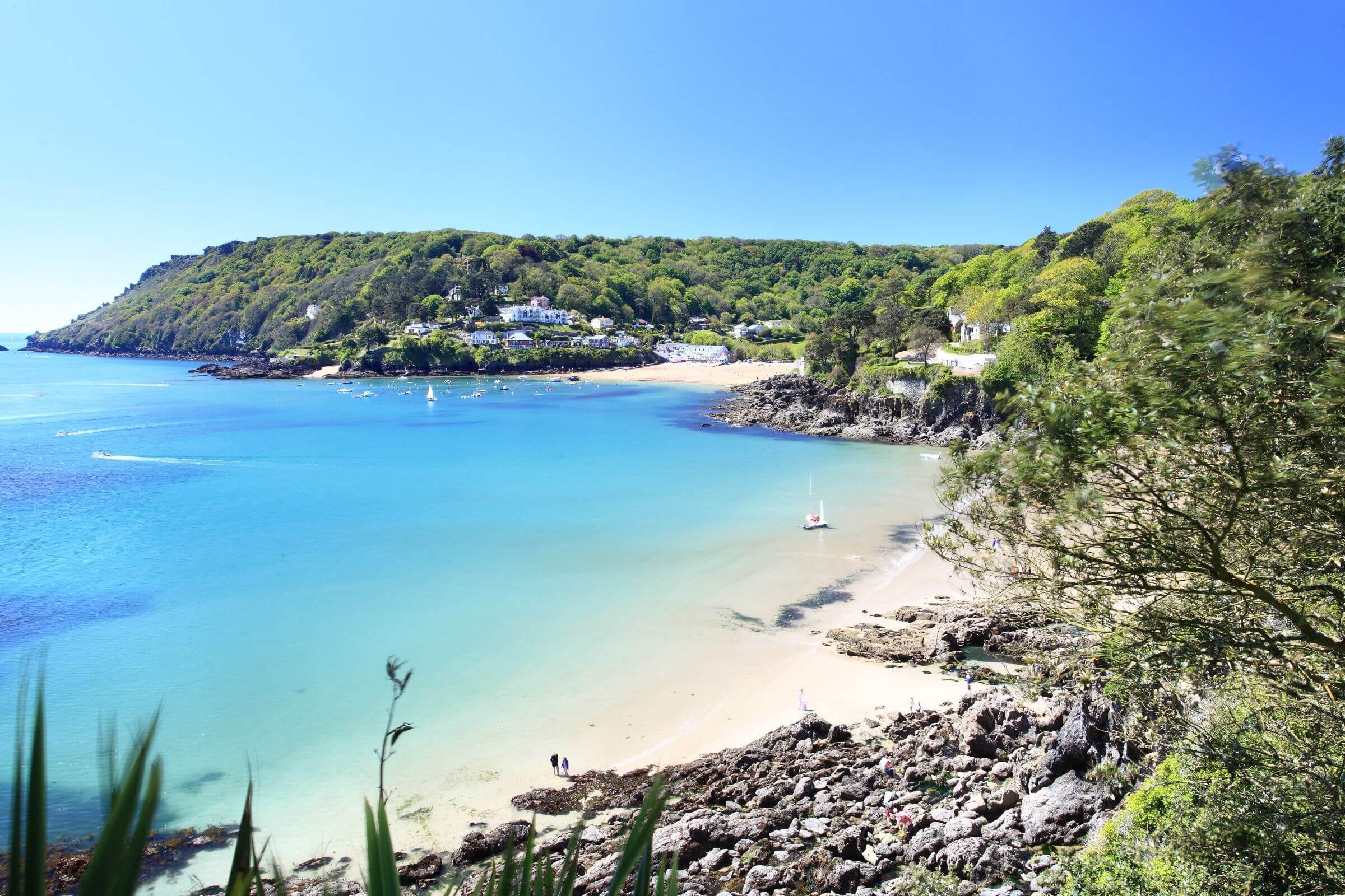 Beach in Salcombe, Devon