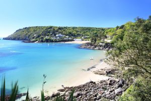 Beach in Salcombe, Devon