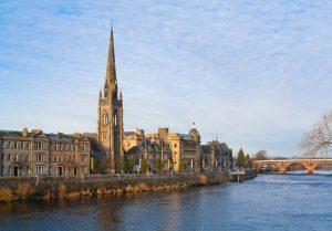 St Matthews Church, Perth, Scotland