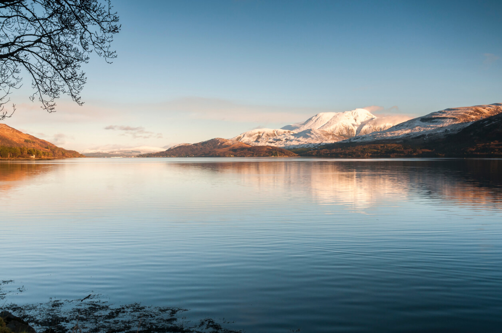 Views from Loch Linnhe to Ben Nevis, Fort William
