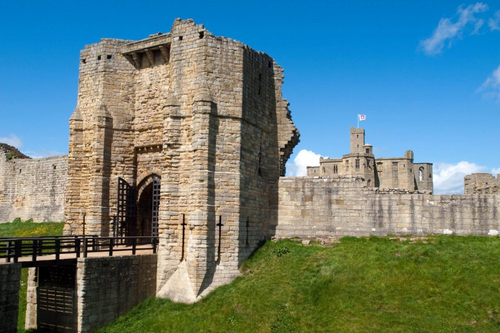 Warkworth Castle Northumberland