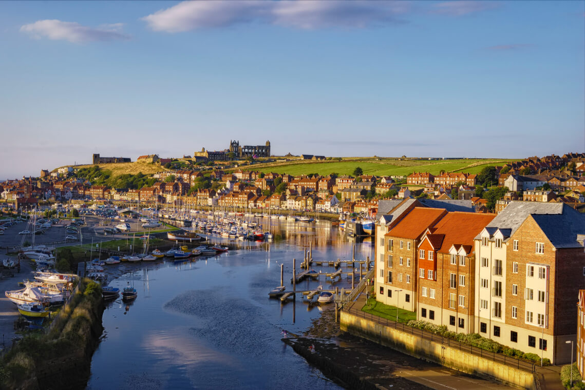 Whitby and River Esk