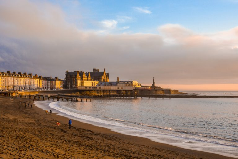 aberystwyth seafront and pier