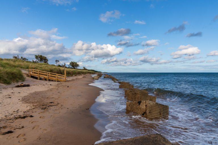 alnmouth beach northumberland coast