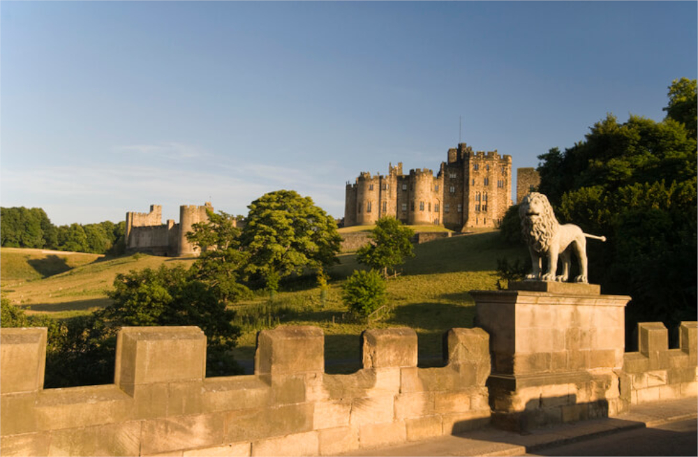 alnwick castle and gardens