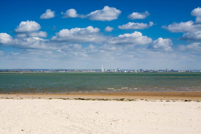beach sea ryde isle of wight