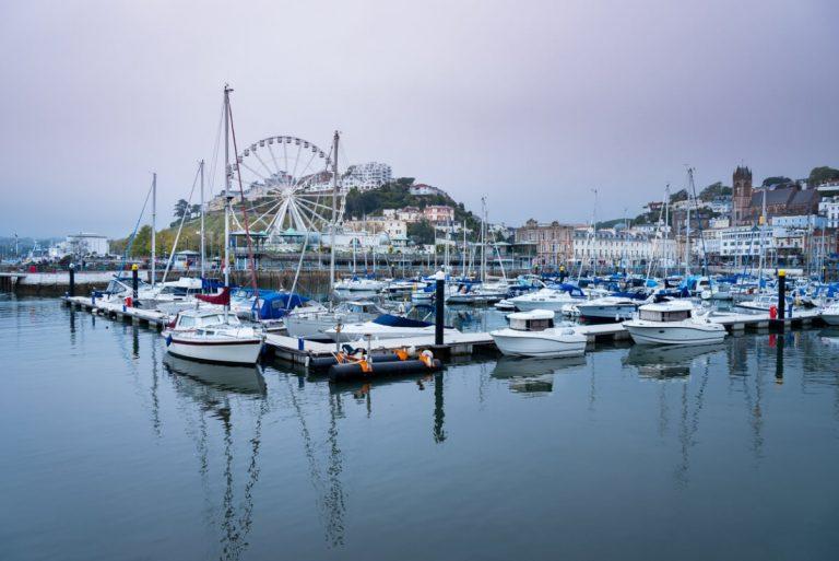 boats torquay harbour devon