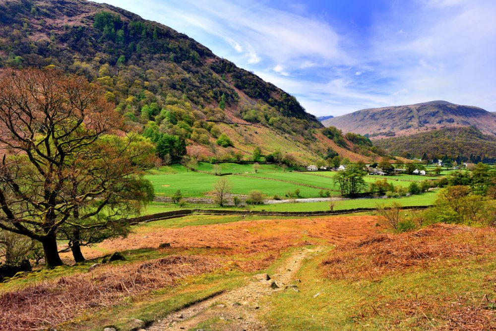 borrowdale walk lake district