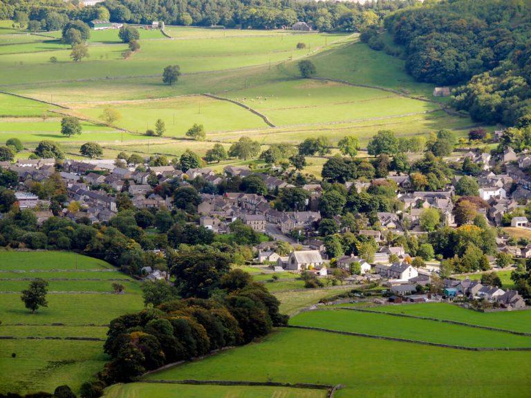 castleton village peak district