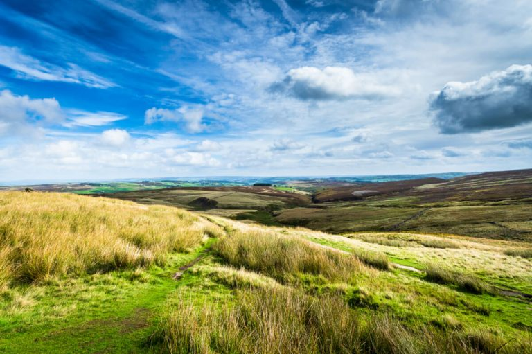 bronte country haworth yorkshire