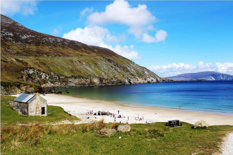keem beach achill island mayo ireland