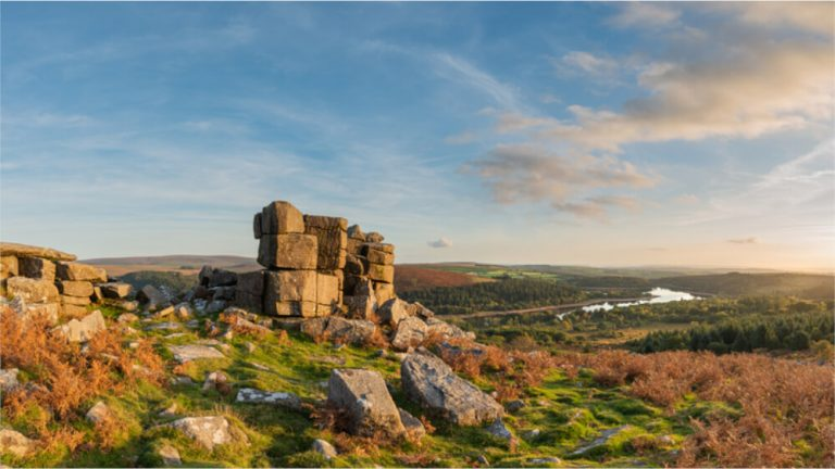 dartmoor national park leather tor