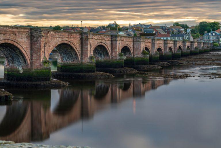 old bridge berwick upon tweed northumberland