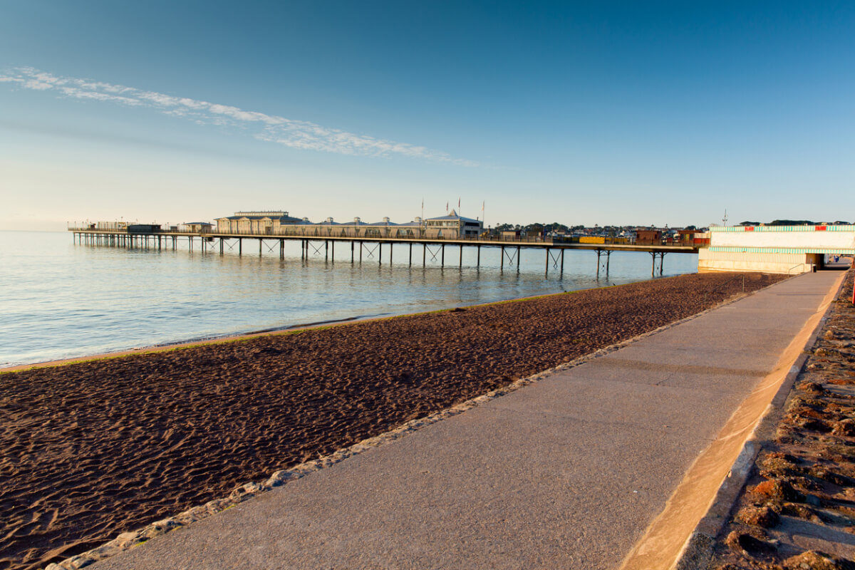 paignton beach and harbour