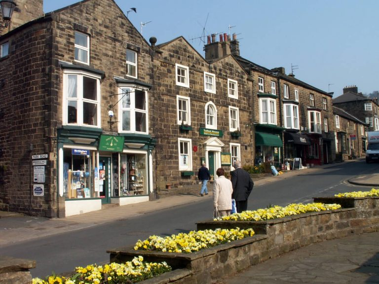 pateley bridge high street yorkshire
