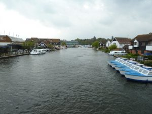 river in wroxham norfolk broads