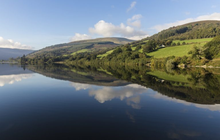 river usk brecon beacons wales