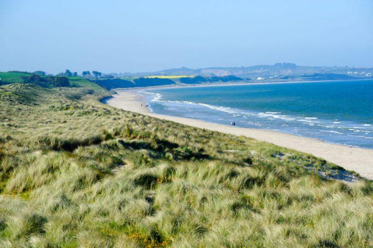 sandy beach county wexford ireland