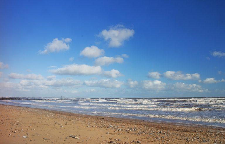 sheringham beach norfolk coast
