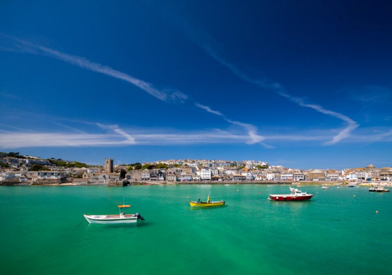 harbour in st ives