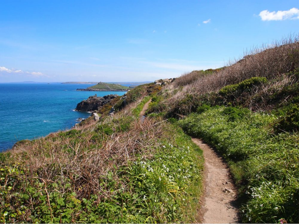 st ives to zennor walk cornwall