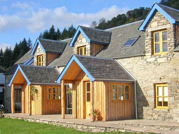 Weem near Aberfeldy  a great place to enjoy a self catering holiday