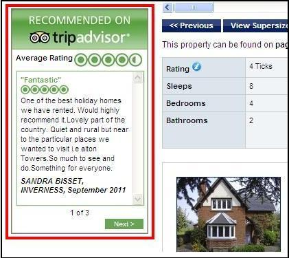 TripAdvisor Review Example