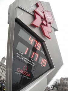 The countdown to the London 2012 games