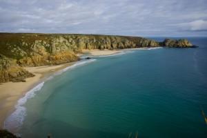 A beautiful beach in Cornwall