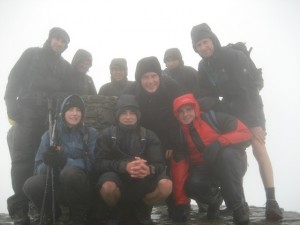 Battling the elements on the Three Peaks Chalenge