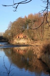 Enjoy a walk along the banks of the River Eden and see the wonder of Lacy's Caves in the Lake District