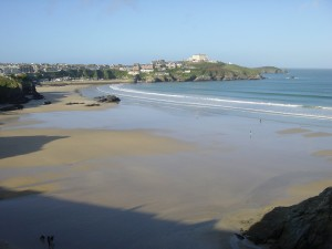 The surfing capital of the UK, Newquay