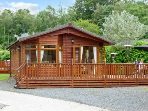 Log cabin in the Lake District