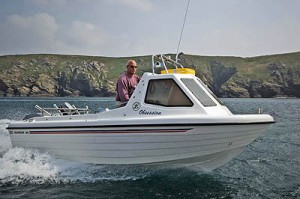 Try a boat ride on a holiday in Cornwall