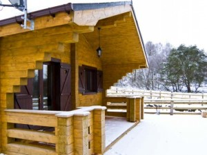 Choose a luxurious log cabin in Scotland!