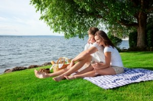 Enjoy a picnic whilst on holiday