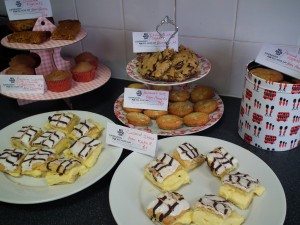 The Sykes Cottages Comic Relief Bake Sale 2013