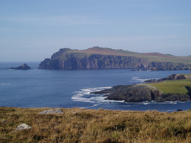 The Irish Coast near Dingle, Ireland - Via. Flickr
