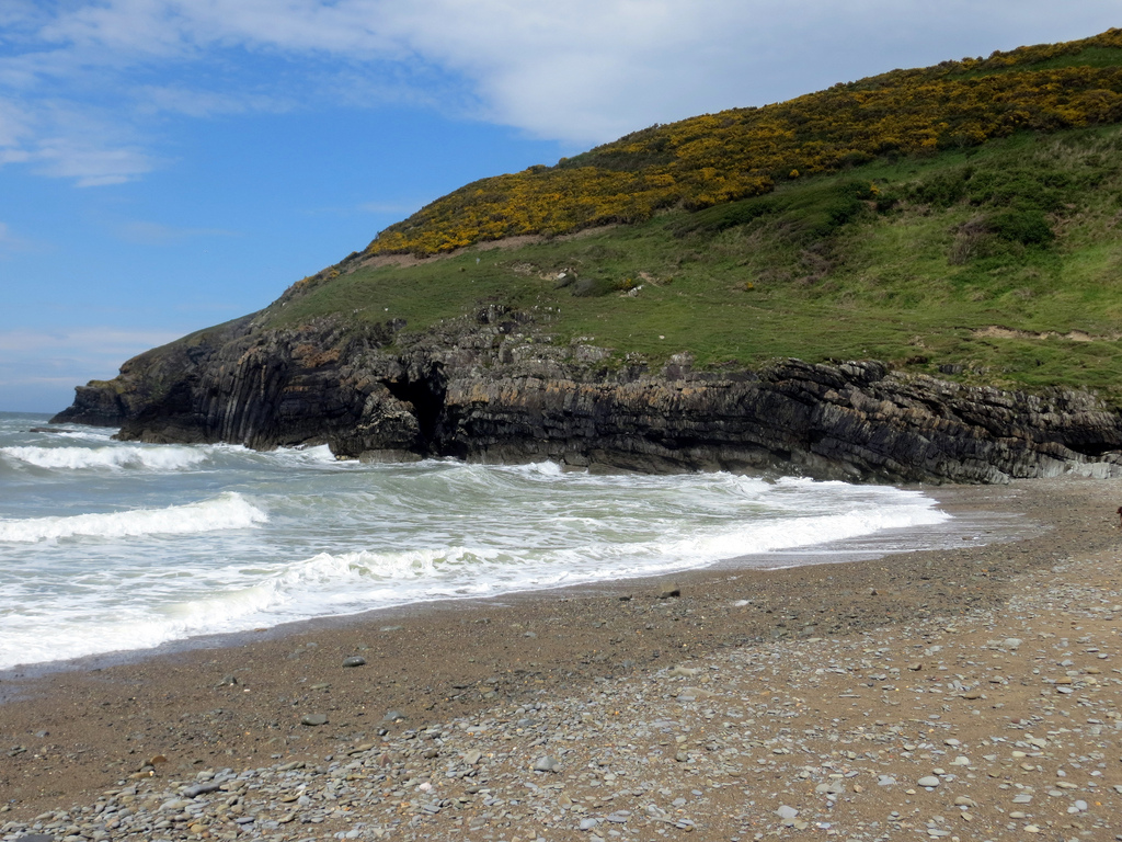 Cwmtydu Beach. Via Flickr