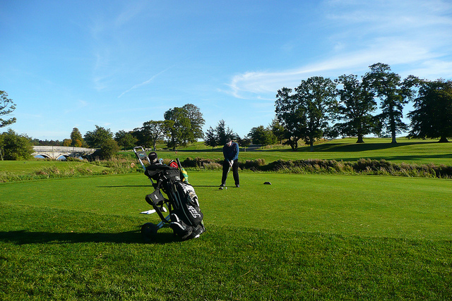 Golfing at Carton House, Maynooth, Ireland